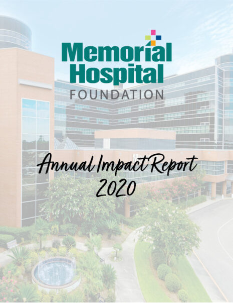 2020 Annual Impact Report Cover
